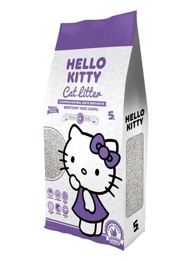 Hello Kitty HELLO KITTY 5L LAVANTA KOKULU BENTONİT KEDİ KUMU Renkli